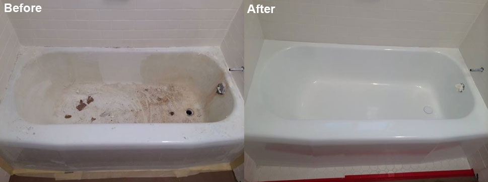 Photo universal refinish for Bathtub refinishing